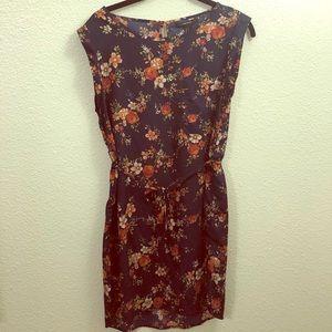 Small floral print dress